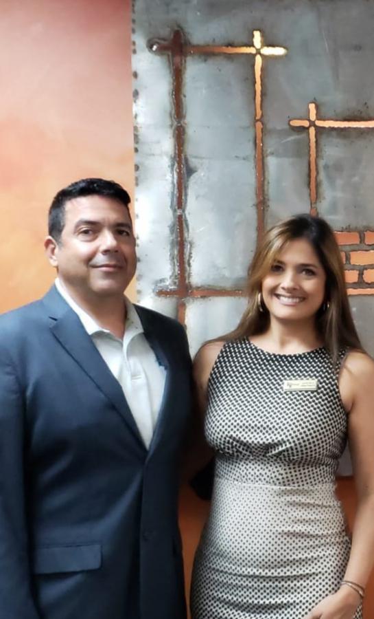 Juan Velez and Marcela Restrepo